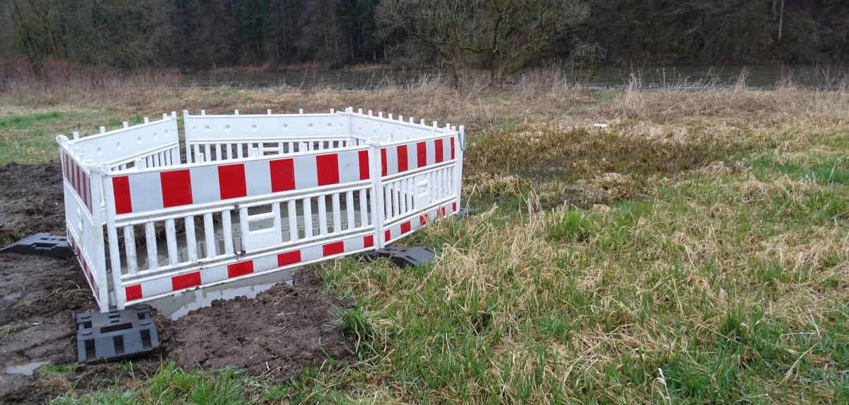 Entwässerung Sumpfgebiet – es geht weiter